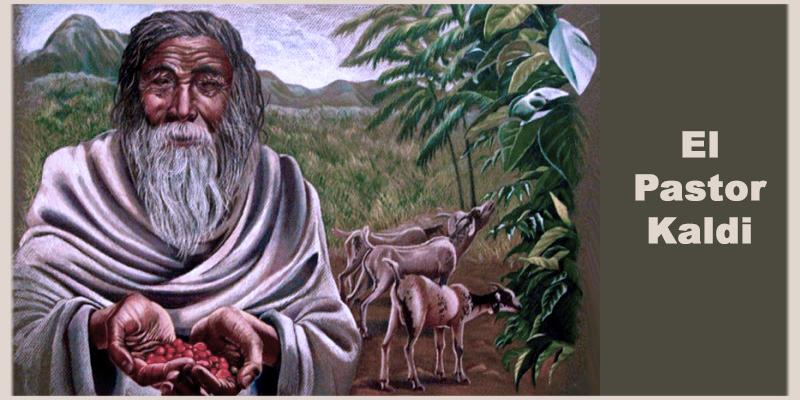 La leyenda de Kaldi y el descubrimiento del cafe
