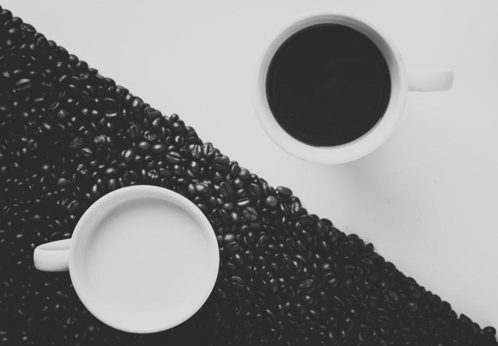 El café con leche es una cuestión de contrastes