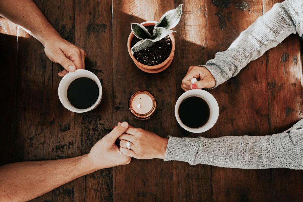 Tomar un buen café
