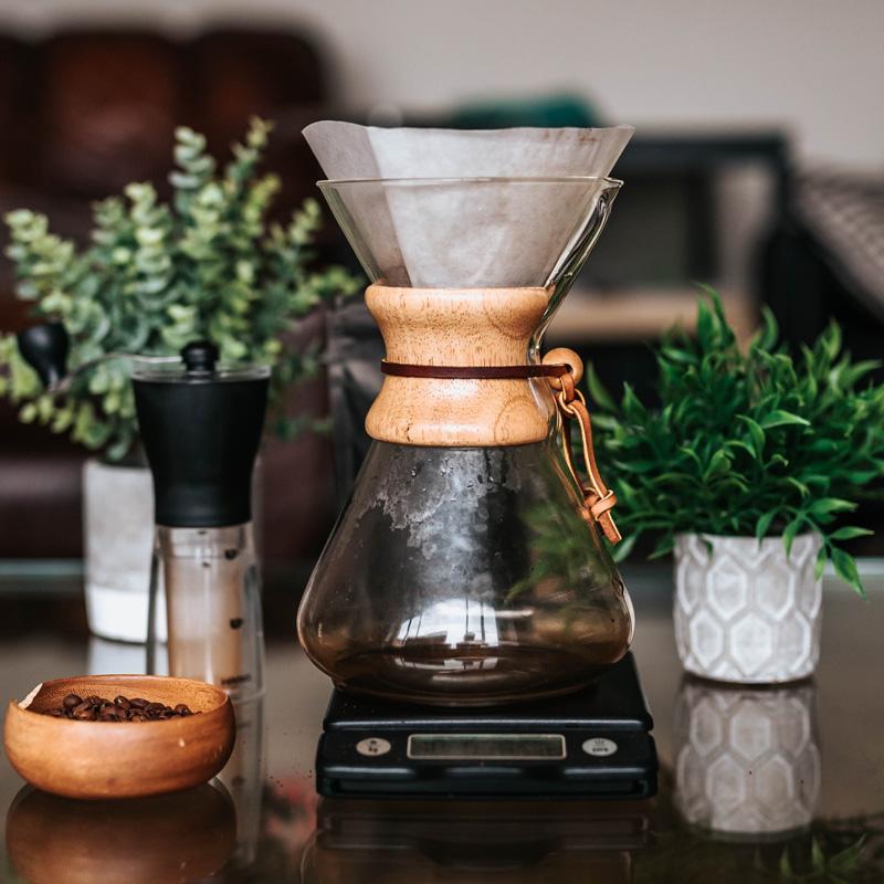 Cafetera de goteo manual Chemex