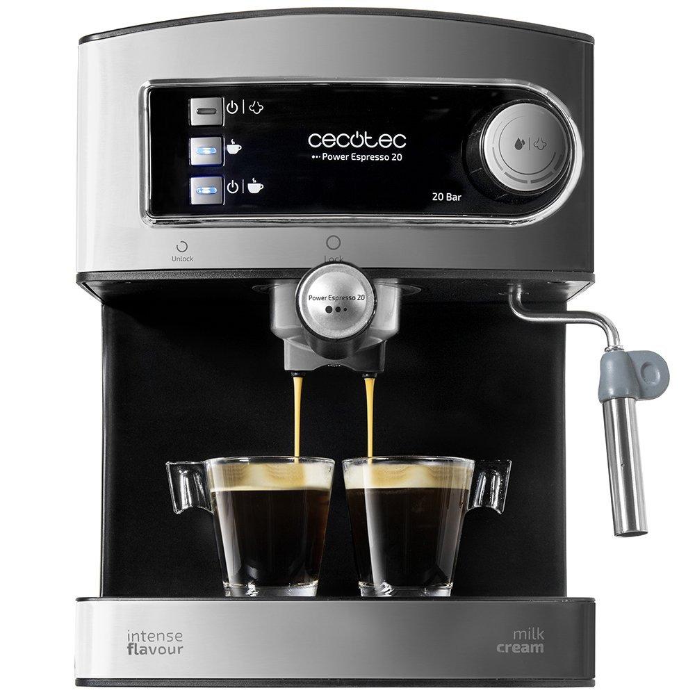 Imagen frontal de la Cafetera Cecotec Power Espresso