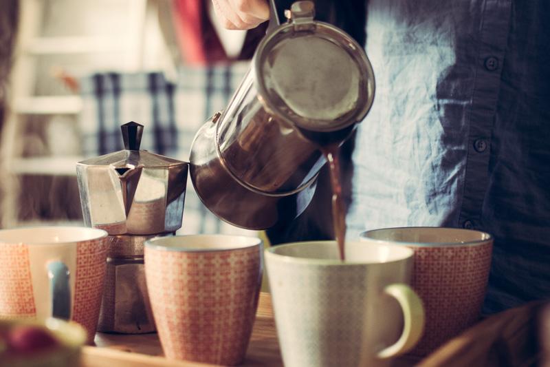 Preparar un café verde