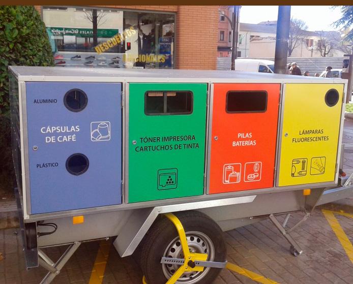 Algunos puntos limpios tienen contenedores especiales para cápsulas de café