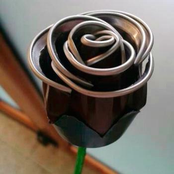Recicla cápsulas de café (Flores)