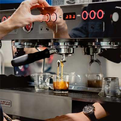 Cafetera Express profesional Barista